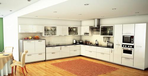L Shape Modular Kitchen JOHNSON KITCHENS 150 Tank Road