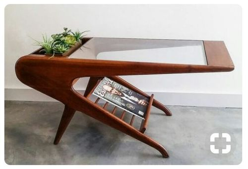 carlson artistic wooden coffee table