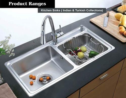 Double Bowl Kitchen Sink at Best Price in Thrissur, Kerala ...