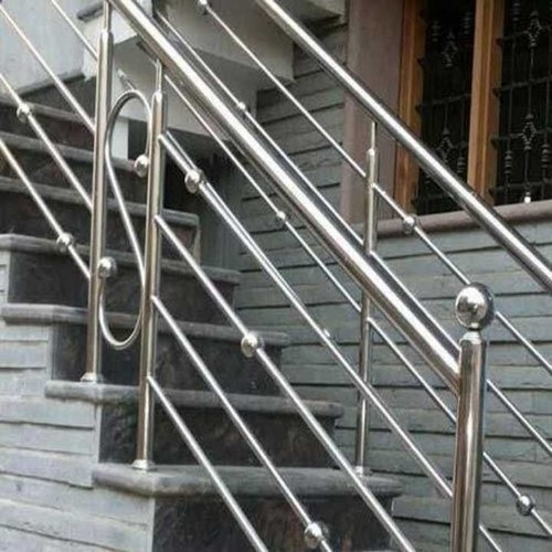 Stainless Steel Staircase Railing At Best Price In Mumbai | Stainless Steel Staircase Price | Iron | Helical Staircase | Small Steel | Black Steel | Spiral