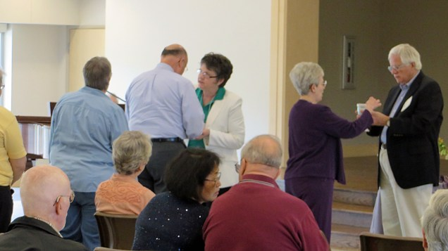 The event concluded with Holy Communion.