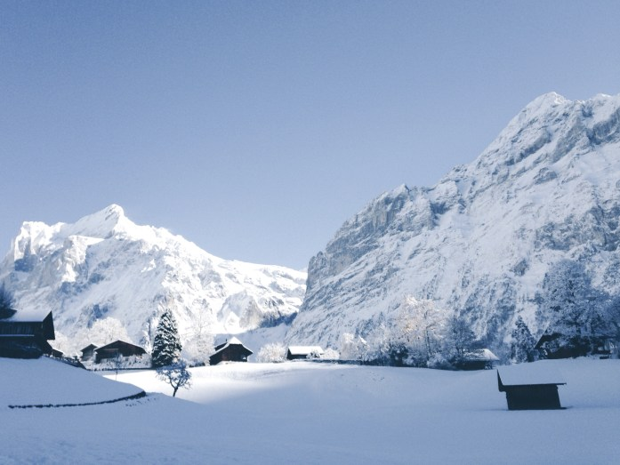 Grindelwald Switzerland by Tiina Kivelä