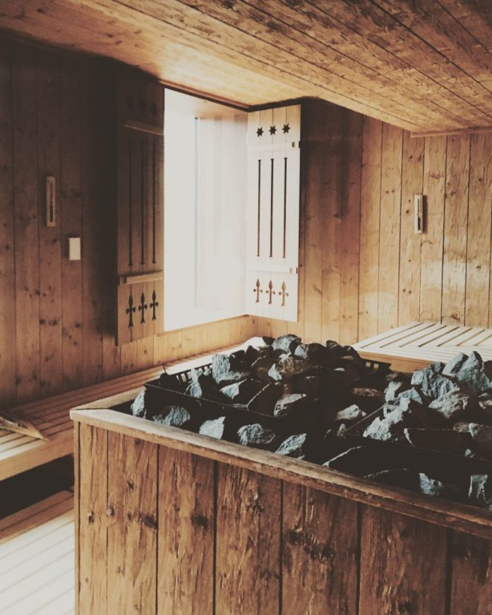 Finnish Sauna Frutt Lodge & Spa Switzerland