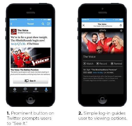 Twitter e Comcast