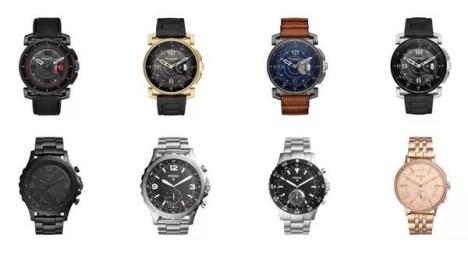4e2cec3b657 As marcas internacionais Fossil e Diesel lançam no Brasil seus smartwatches  híbridos com funções tecnológicas para ajudar no dia a dia.