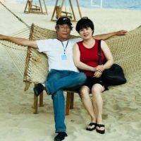 Bà Nguyễn Thúy Hạnh và ông Huỳnh Ngọc Chênh