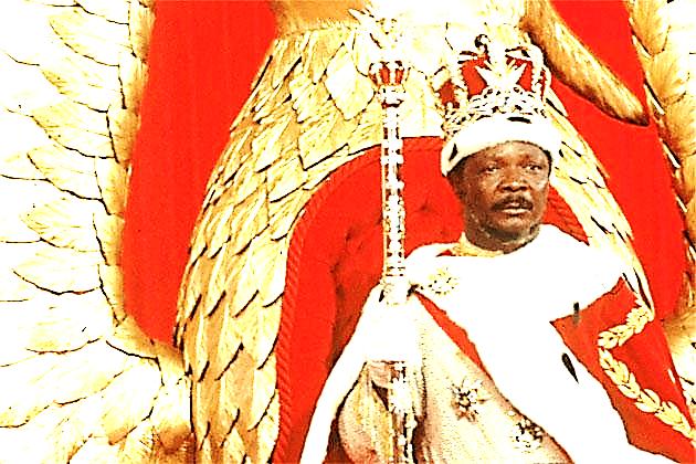 Bokassa blev dødsdømt for sine forbrydelser, men senere benådet.