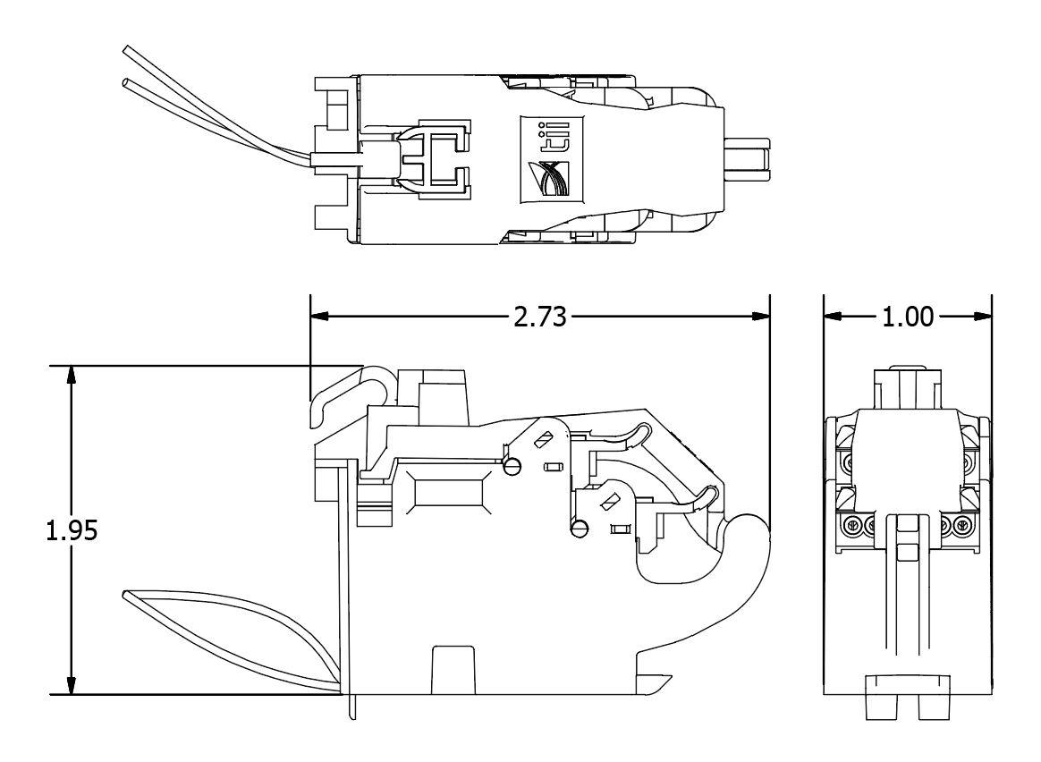 95s 1 12 Dsl Pots Splitter Module For Vdsl2 Adsl2 Iptv