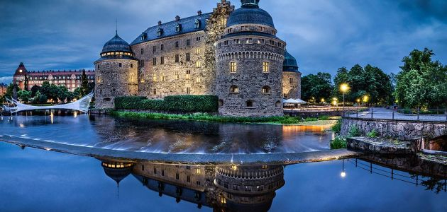 الموانئ التجارية في السويد