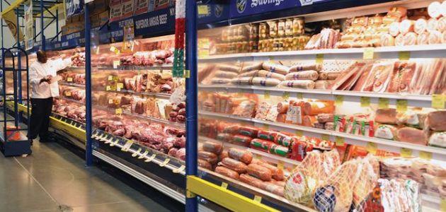 ما هو حجم تجارة المواد الغذائية في السعودية