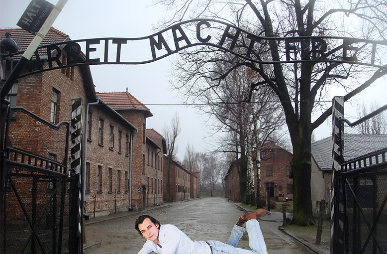 "<span style=""color: #ff0000;"">Thierry Baudet</span> <span style=""color: #333333;"">voor PAUW naar Auschwitz</span>"