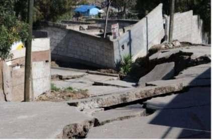 50 familias afectadas en colonia 3 de Octubre.