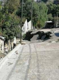 50 familias afectadas en colonia 3 de Octubre
