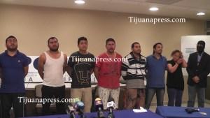 presentan a 7 detenidos por secuestro
