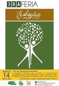 Poster 3ra Feria Ecologica UABC
