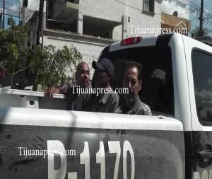 detenidos por la municipal