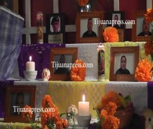 altar de muertos a policias 2