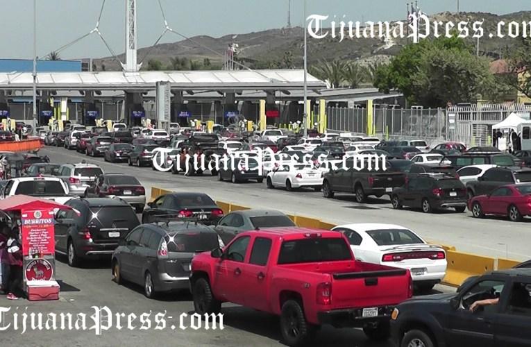 Menos tránsito en San Ysidro para ser fin se semana largo por Labor Day