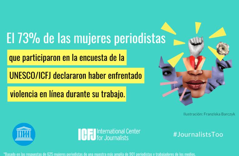 Encuesta mundial de la UNESCO sobre la violencia en línea contra mujeres periodistas
