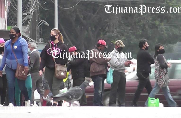 Tijuana, 209 casos y siete días consecutivos en primer lugar de contagios