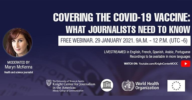 Lo que deben saber los periodistas de la vacuna contra Covid-19