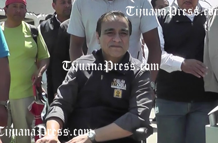 Otra movilización en apoyo a Julián Leyzaola a pesar de acusaciones en su contra