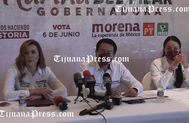 Líder nacional de MORENA cuestiona y es cuestionado en Tijuana