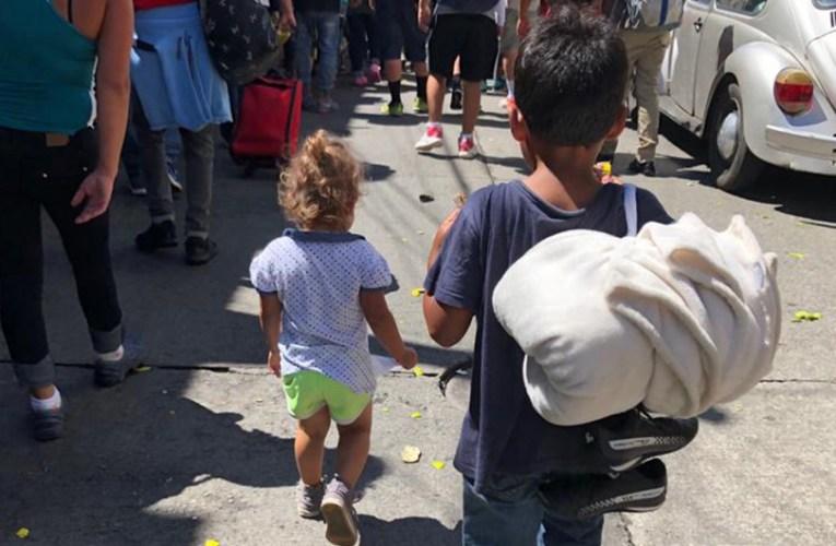 Se dispara el número de niños migrantes en México durante los tres primeros meses de 2021