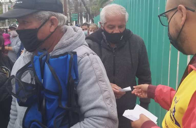 Suspenden vacunación en Tijuana