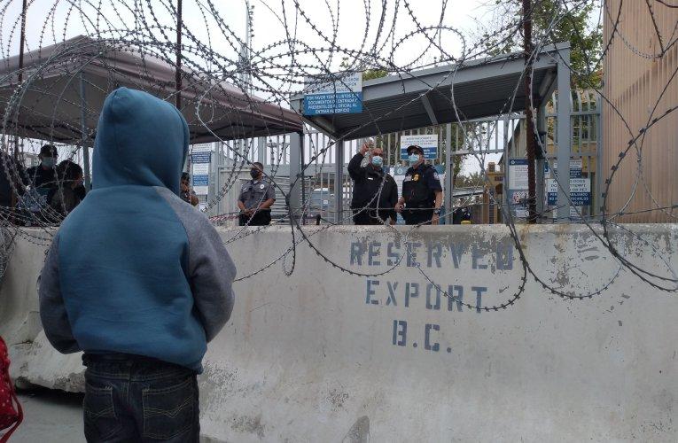 Cientos de solicitantes de asilo ya pasaron la frontera