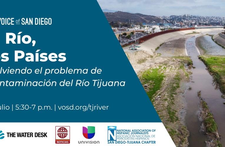 Panel binacional sobre la contaminación del río Tijuana a San Diego