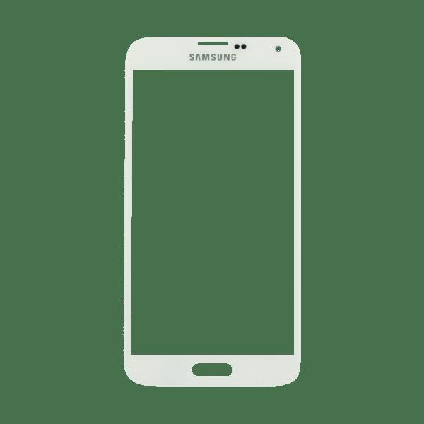 Samsung S4 זכוכית קדמית - לבן