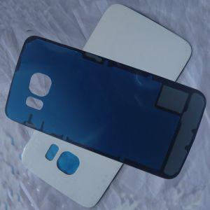 Samsung S6 Edge זכוכית אחורית - לבן