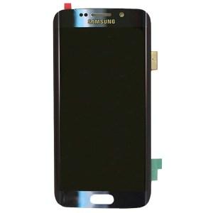 Samsung S6 Edge LCD - שחור