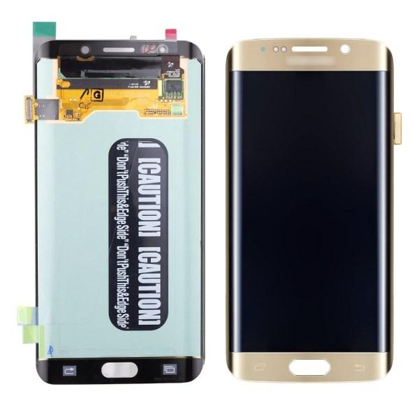 Samsung S6 Edge Plus LCD - זהב
