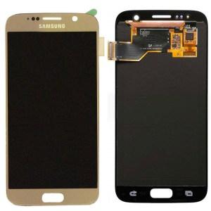 Samsung S7 LCD - זהב