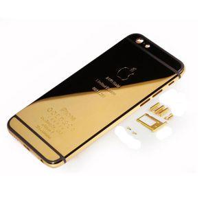 אייפון 6S גב-בית המכשיר - 24K זהב Plated