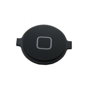אייפון 4 כפתור בית (פלסטיק) - שחור