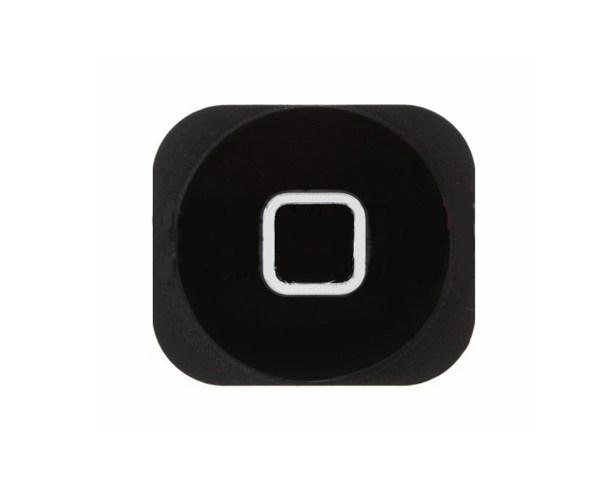 אייפון 5 כפתור בית (פלסטיק) - שחור