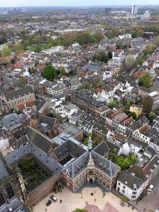 Beklimming Domtoren Utrecht - Uitzicht (1)