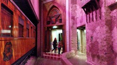 Spoorwegmuseum - theateringang