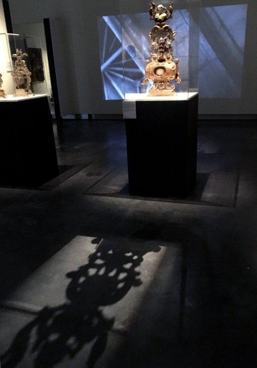 Altaarreliek met schedel van soldaat van Thebaanse Legioen, Collectie Hamers-IJsebrand.