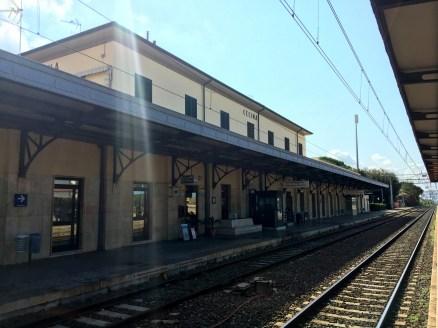 Pisa - dagtrip - Station Cecina