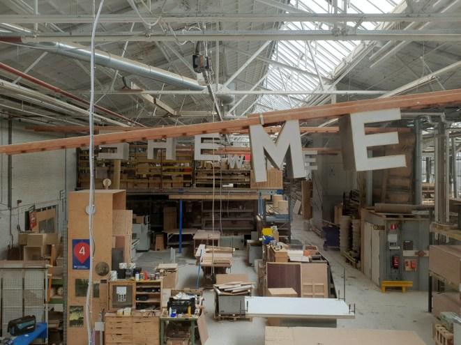 De werkplaats Piet Hein Eek.