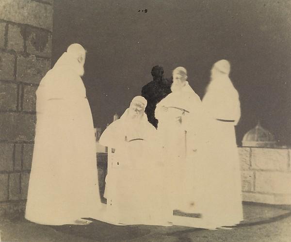 Capuchin Friars, Valetta, Malta, 1846, Calvert Richard Jones