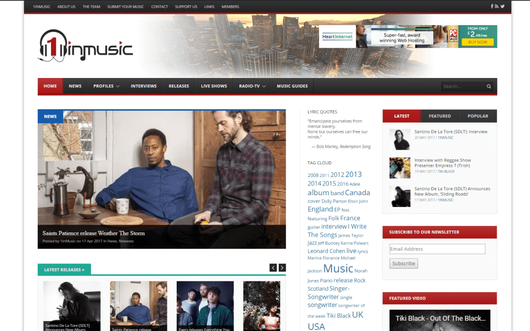 Music broadcasting
