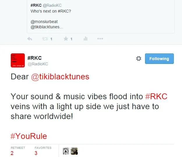 Radio KC, making my week