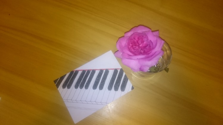 The rose and the piano