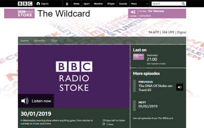 BBC The Wildcard – The Language of Music 30/01/2019