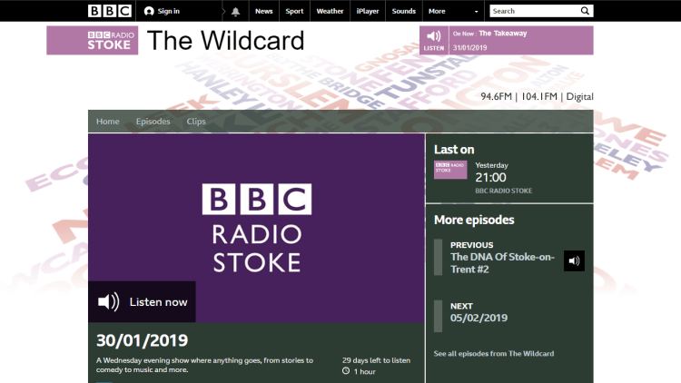 BBC The Wildcard The Language of Music - 30 01 2019